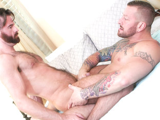 Brendan Patrick & Hugh Hunter in A Father's Deep Love - IconMale
