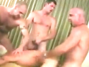Incredible gay clip with Bareback, Gangbang scenes