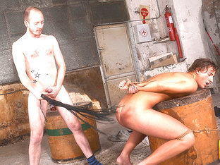Thirsty Boy Gets Fed & Fucked! - Casper Ellis & Sean Taylor - Boynapped