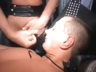 Sexy guy gets dominated