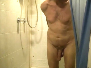 horny in shower, gym, sauna 6