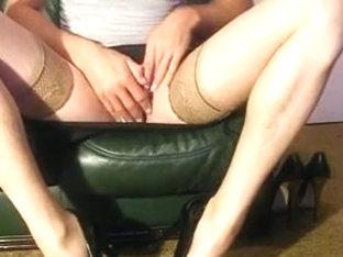 high heels cumshot
