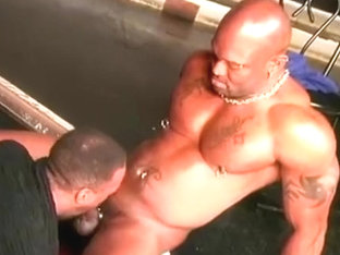 Hung Bloods scene with Bobby Blake