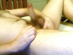 Strip, Wank, Finger and Cum