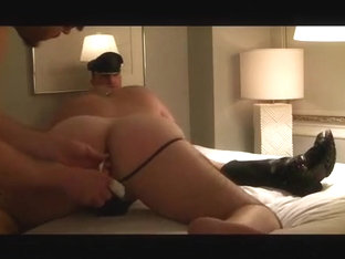 BIG ASS FUCKED BY DADDY'S BOY
