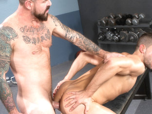 Rocco Steele & Kyle Kash in Stiff Sentence, Scene 04 - HotHouse