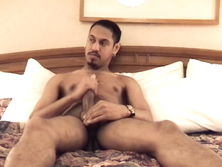 Young Amateur Lance Jerks Off - RamjetVideo