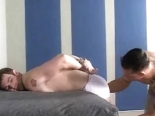 bareback submission - vibrator, slavery, anal, cum eating
