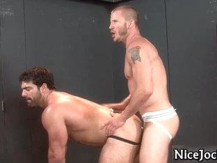 These hot jocks love to suck part1
