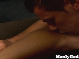 Gay couples closeup gaysex and creamy climax