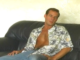 Gorgeous Guy With Huge Cock Masturbating