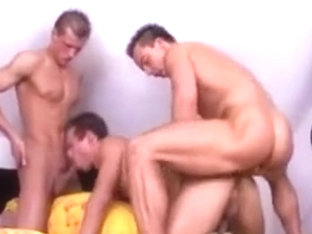 Euro Prison Shower Mixed Race 3way