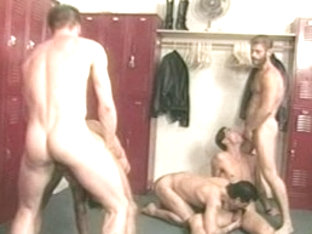 Fabulous male pornstar in horny vintage, hunks homosexual porn video