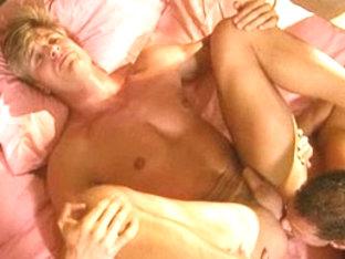 Horny male pornstar in best masturbation, blowjob gay adult movie