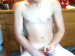 Amazing male in horny amateur, blonde homosexual porn clip