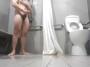 My brother caught jerking off and cuming in the shower