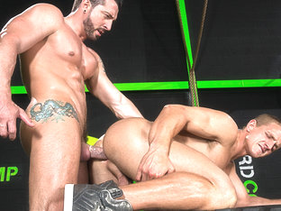 The Trainer XXX Video: Landon Mycles, Jimmy Durano - FalconStudios