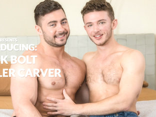 Derek Bolt & Tyler Carver in Introducing Derek Bolt & Tyler Carver - NextDoorBuddies
