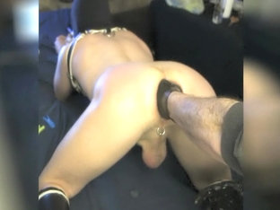 spanking and fisting my little ass
