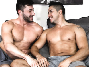 Scott DeMarco & Adrian Suarez in The Language Of Sex - PrideStudios