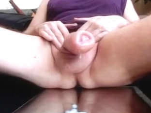 Shake my pumped cock and spray out my sperm