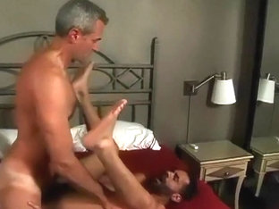 Mature bareback fucks black ass