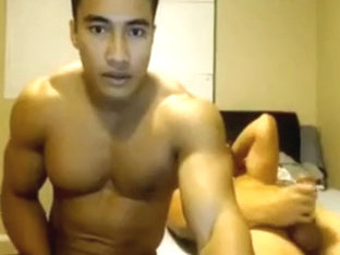 Muscle Boy Cums On His Best Friends Face 1st Time On Cam