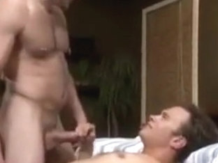 HAIRY man FUCK hard RAW bare ass spit SLAP creampy ASS