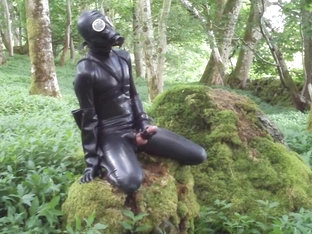 Rubber Wank Outdoors