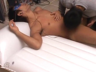 Exotic Asian homosexual twinks in Horny masturbation, twinks JAV clip