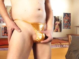sexy amber thong scene 2