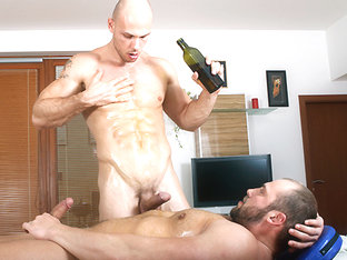 Oiled Up For Anal Pounding Scene - RubHim