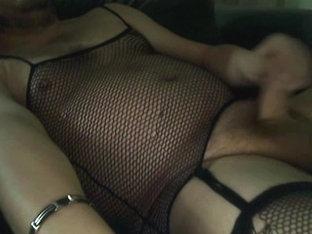 Cross Dressing Slut Wanking