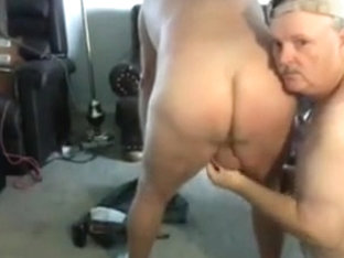 Grandpa couple on cam part 2