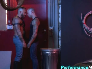 Toyed stud gets spunked