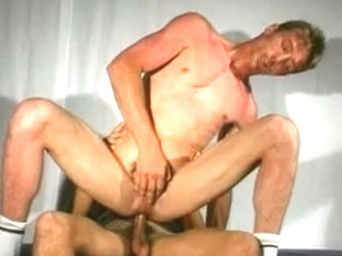 Neat hunks in passionate gay sex encounter