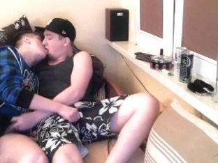 2 Curius Best Friends Hot Blowjob On Cam