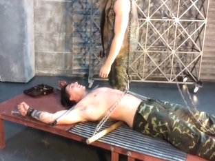 Incredible male in hottest bdsm, str8 homosexual sex clip