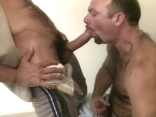 Sexy Anthony In Uniform Has Gay Blow Job