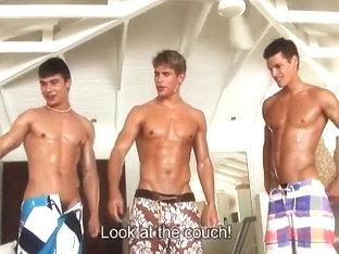 Hot beach lovers