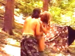 Vintage - Zu dritt im Wald