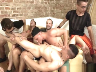 Bareback Bang Euro Twink Party