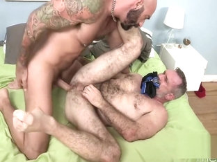 daddy bears rough fuck