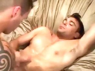 Deep bareback anal penetration