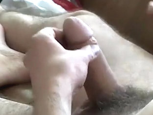 My cock and my hands only