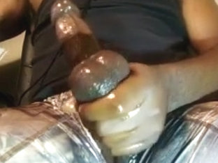 ThickBlackOilyCock Camouflage show 2