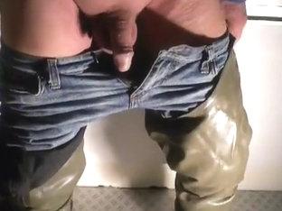 nlboots - i feel cebo waders, jeans and hear i feel love