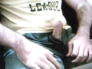 Soaked Shorts / Pissing And Stroking In Blue Jeans Shorts