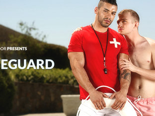 Arad & Archer Hart in The Lifeguard XXX Video