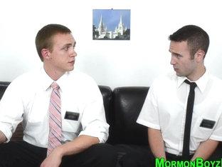 Underwear mormon cum soak